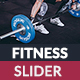 Fitness  Slider - GraphicRiver Item for Sale