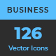 126 Vector Line Business Icons