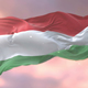 Flag of Hungary at Sunset - VideoHive Item for Sale