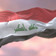 Flag of Iraq at Sunset - VideoHive Item for Sale