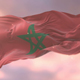 Flag of Morocco at Sunset - VideoHive Item for Sale