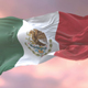 Flag of Mexico at Sunset - VideoHive Item for Sale