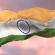 Flag of India at Sunset - VideoHive Item for Sale
