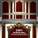 2 Luxurious Royal Walls