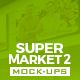 Supermarket Vol.2 Mock-Ups Pack - GraphicRiver Item for Sale