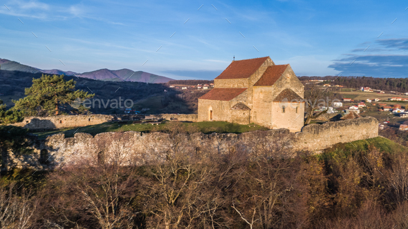 Cisniadioara Fortified Church - Stock Photo - Images