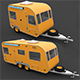 Caravan 3D Model - 3DOcean Item for Sale