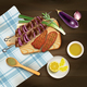 BBQ Realistic Illustration - GraphicRiver Item for Sale