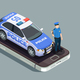 Police Isometric Concept - GraphicRiver Item for Sale