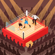 Boxing Isometric Illustration - GraphicRiver Item for Sale
