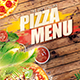 Italian Pizza Menu - GraphicRiver Item for Sale