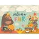Animals on Autumn Fair - GraphicRiver Item for Sale