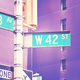 West 42 Street and 8th Avenue street name signs. - PhotoDune Item for Sale