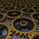 golden gears background - GraphicRiver Item for Sale