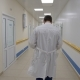 The Doctor Walks Down the Hospital Corridor From the Camera - VideoHive Item for Sale