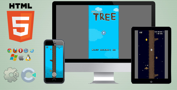 Endless Tree - HTML5 Skill game            Nulled