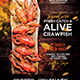 Crawfish Template for Flyer or Poster - GraphicRiver Item for Sale