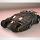 Batmobile The Tumbler - 3DOcean Item for Sale