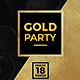 Black Gold Party - GraphicRiver Item for Sale