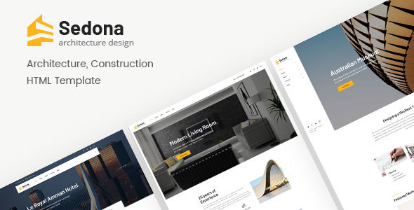 Sedona | Architecture & Construction HTML Template - Creative Site Templates