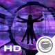 Vitruvian Astronaut At The Space Station - VideoHive Item for Sale