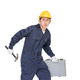 Young handyman standing with his tool box-8 - PhotoDune Item for Sale