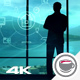 IOT Infographics And The Silhouette Of A Businessman - VideoHive Item for Sale