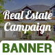 Real Estate Campaign Banner Set - GraphicRiver Item for Sale