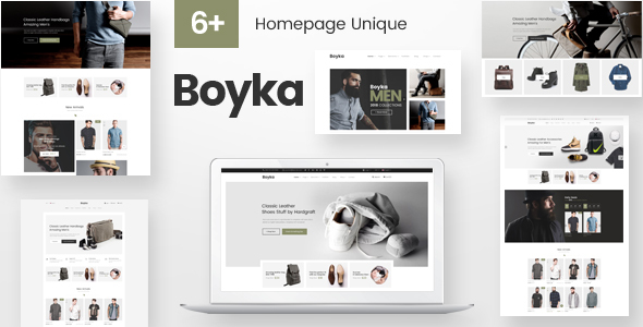 Image of Boyka - Fashion Responsive PrestaShop Theme