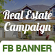 Real Estate Campaign Fb Cover & Ads