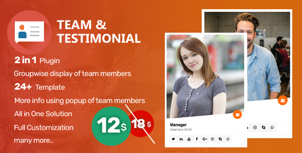 Supaz Team and Testimonials - CodeCanyon Item for Sale