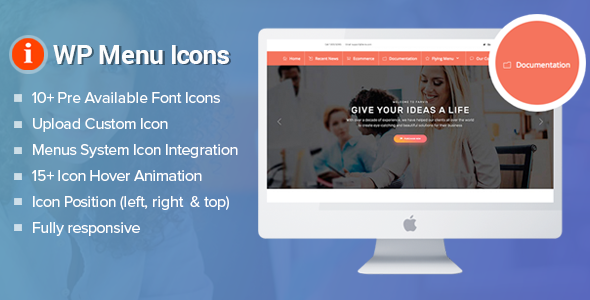 WP Menu Icons - Effectively Add & Customize Icons For WordPress Menus (Utilities)