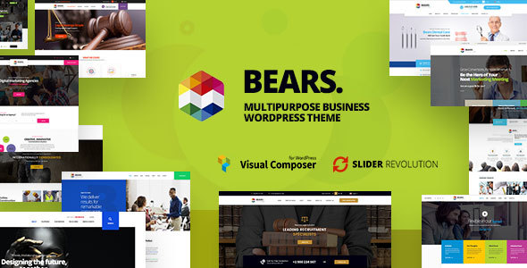 Image of Bears - Multipurpose Business WordPress Theme