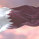Flag of Qatar at Sunset - VideoHive Item for Sale