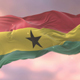 Flag of Ghana at Sunset - VideoHive Item for Sale