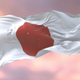 Flag of Japan at Sunset - VideoHive Item for Sale