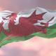 Flag of Wales at Sunset - VideoHive Item for Sale