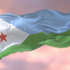 Flag of Djibouti at Sunset - VideoHive Item for Sale