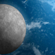 Moon Orbiting around the Planet Earth - VideoHive Item for Sale