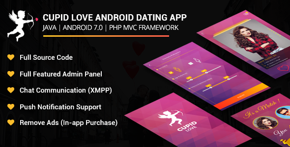 Cupid Love Dating Android Native Application            Nulled