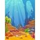 Cartoon Underwater Background