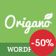 Origano - Organic Food & Eco Farm WordPress Theme - ThemeForest Item for Sale