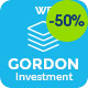 Gordon | Investments & Insurance Company WordPress Theme - ThemeForest Item for Sale