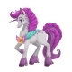 Magic Horse with Long Purple Hair