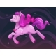 Cartoon Flying Pink Pony - GraphicRiver Item for Sale
