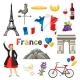 France Icons Set - GraphicRiver Item for Sale