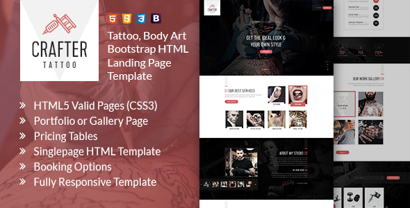 https://themeforest.net/item/crafter-tattoo-bootstrap-landing-page-template/22317106?ref=dexignzone