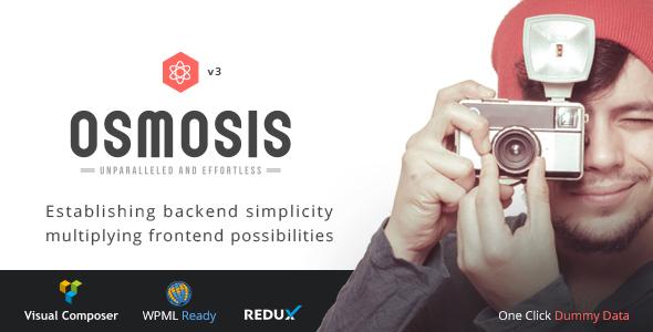 Osmosis - Responsive Multi-Purpose Theme - Corporate WordPress