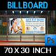 Fitness GYM Billboard Template Vol.3 - GraphicRiver Item for Sale