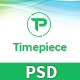 Timepiece - Product Landing Page PSD Template - ThemeForest Item for Sale